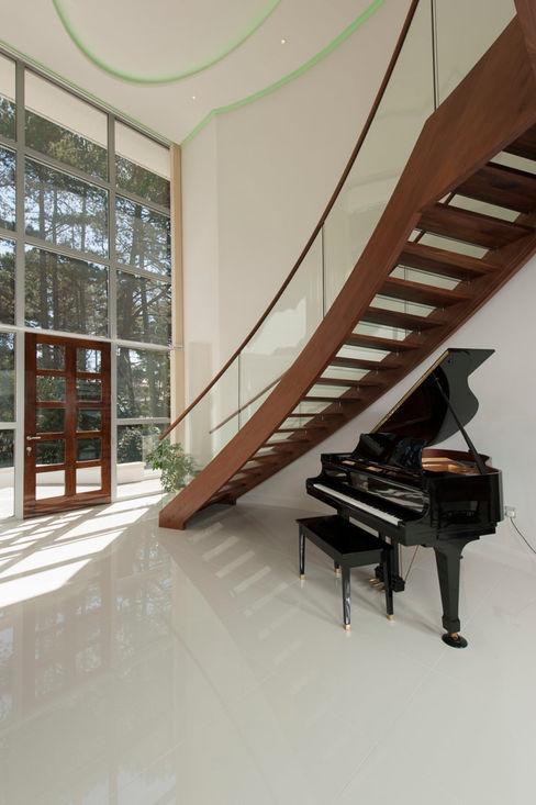 Bingham Avenue, Evening Hill, Poole David James Architects & Partners Ltd Koridor & Tangga Klasik