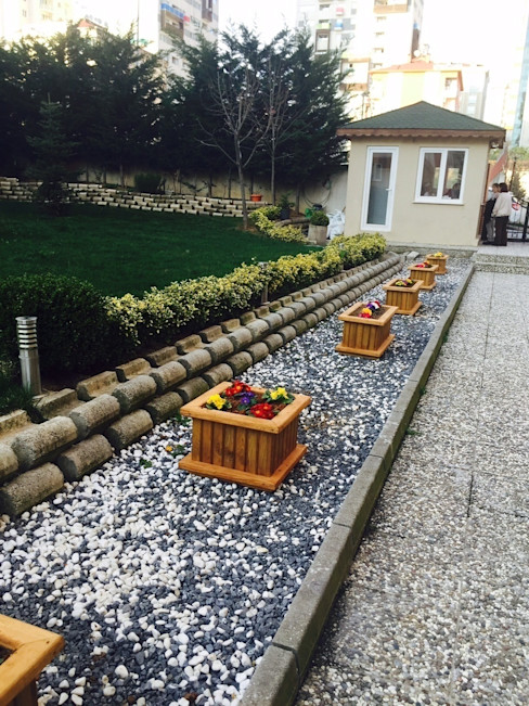 AĞAÇ EV MOBİLYA PEYZAJ LTD. ŞTİ. GartenBlumentöpfe und Vasen