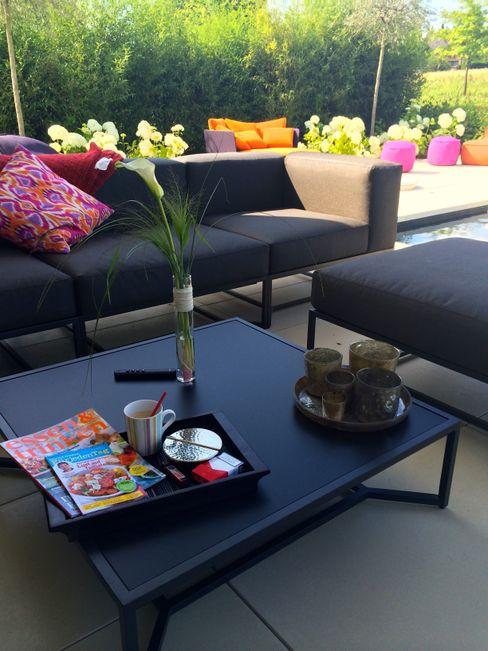 Sichtachsen und strenge Konturen am Feldrand Ambiente Gartengestaltung Moderner Garten