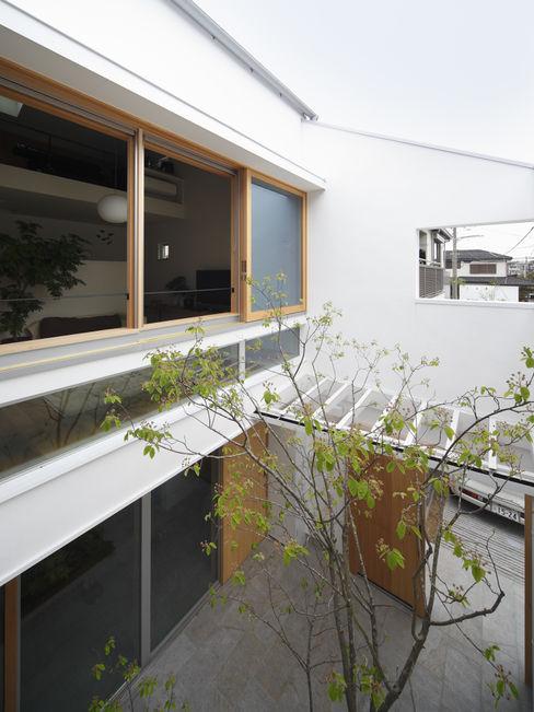 春風の家 樋口章建築アトリエ モダンな庭