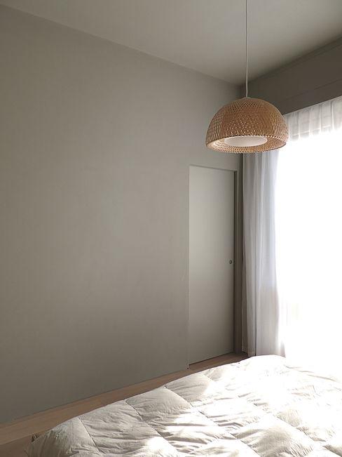 © Diego Collini Federica Stagni diegocolliniarchitetto Camera da letto minimalista