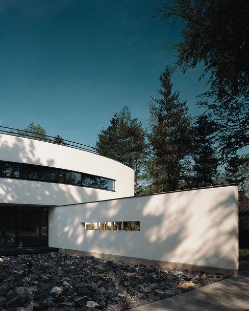 Voorgevel Lab32 architecten Moderne huizen