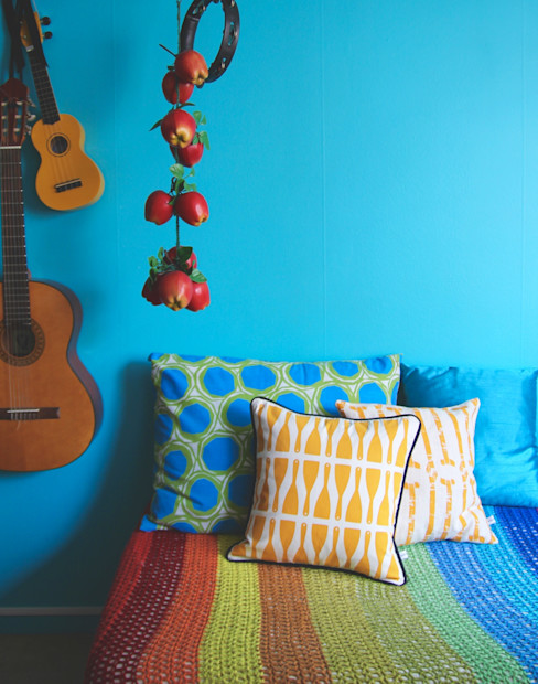 Cushions homify Living roomAccessories & decoration