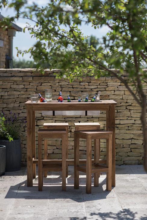 St Mawes Bar Table with Drinks Cooler Garden Trading GartenMöbel