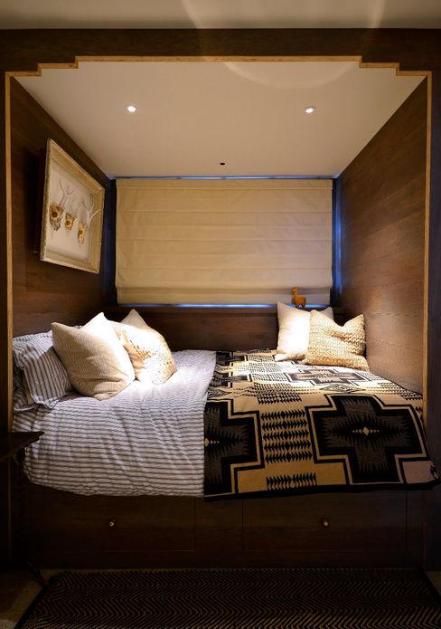 Notting Hill Maisonette Barlow & Barlow Design Eclectic style bedroom