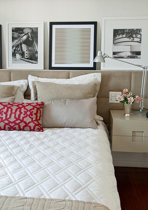 Apartamento Itaim Marcella Loeb QuartoCamas e cabeceiras