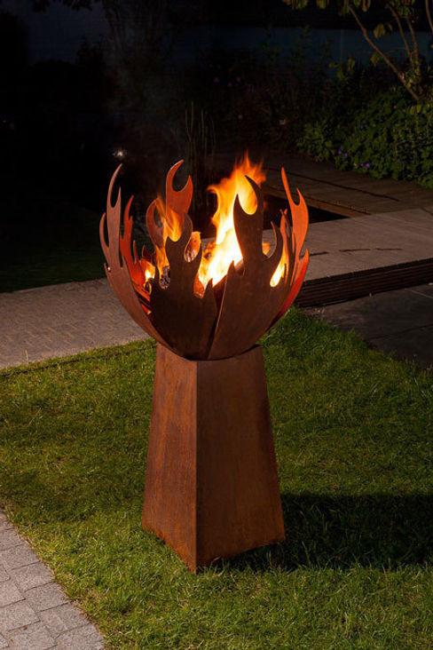 außergewöhnliche Feuerstellen - Flamme Atelier51 GartenFeuerplätze und Grill