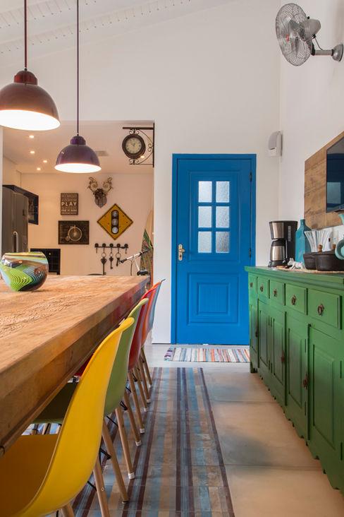 Marcos Contrera Arquitetura & Interiores Cocinas de estilo tropical