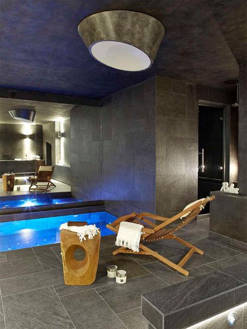 Casa en La Cerdanya. 2013 Deu i Deu Spa de estilo rústico