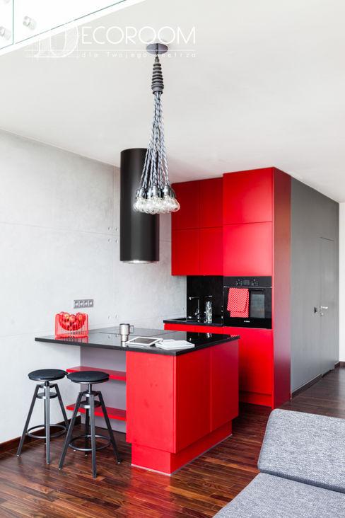 Pracownia Architektury Wnętrz Decoroom Cozinhas industriais