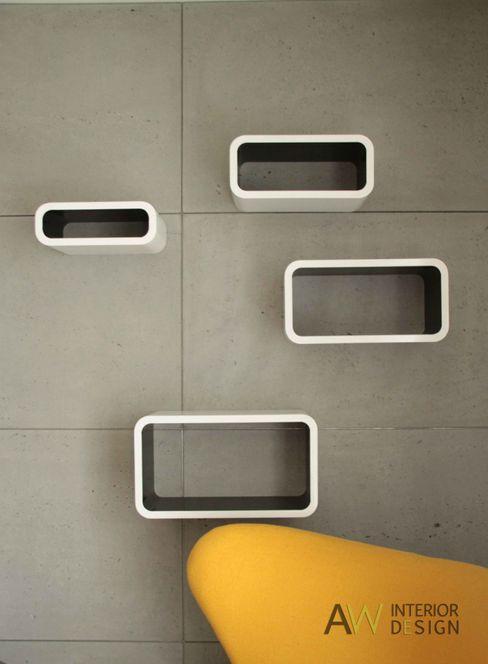 AW INTERIOR DESIGN Living roomShelves