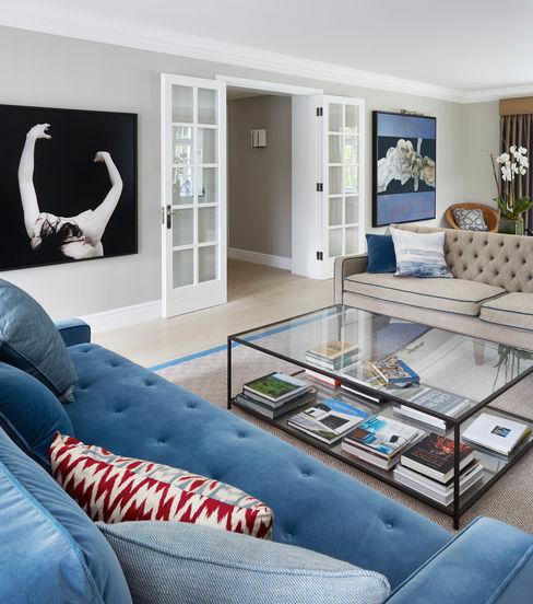 Living Room homify Nowoczesny salon