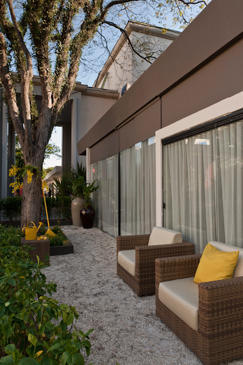 Folha Paisagismo Jardines de estilo minimalista