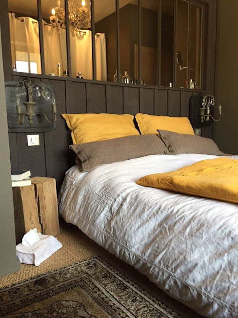 Concept Home Setting Eclectic style bedroom