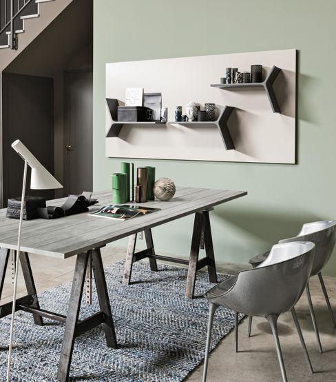 Magnetika system - magnetic shelves and metal panel Ronda Design HouseholdStorage
