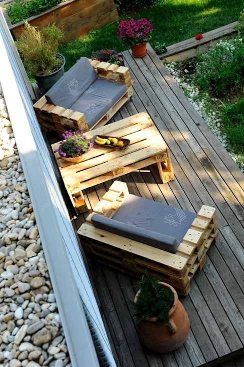 palettenmoebel.at Balconies, verandas & terraces Accessories & decoration