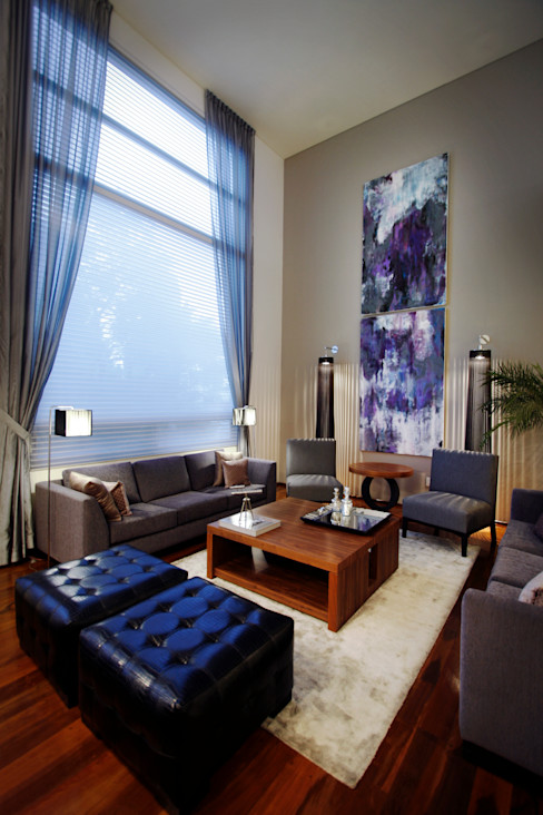 Concepto Taller de Arquitectura Salones de estilo moderno