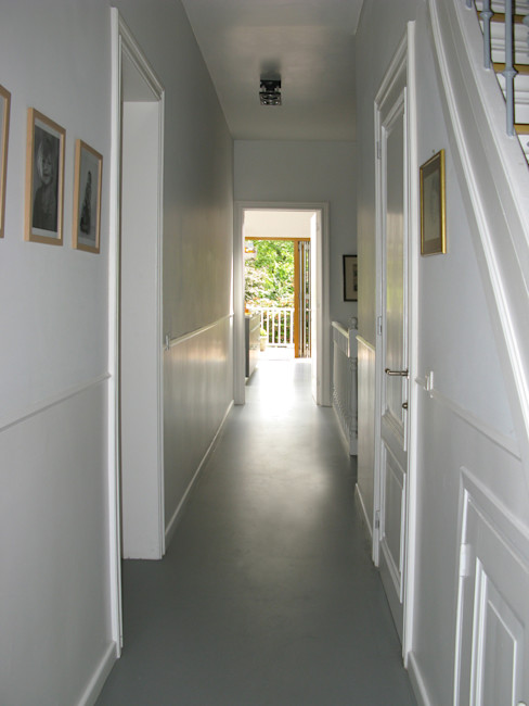 gang Boks architectuur Eclectische gangen, hallen & trappenhuizen