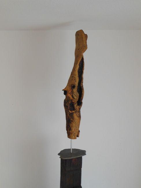 Holzskulptur Holzsteinkunstobjekte WohnzimmerAccessoires und Dekoration