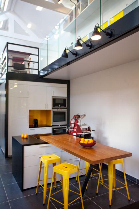 Extension de Maison – Romainville ATELIER FB Cuisine moderne