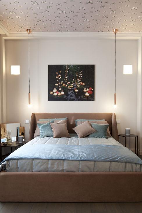 La camera LEI Studio Andrea Castrignano Camera da letto in stile classico