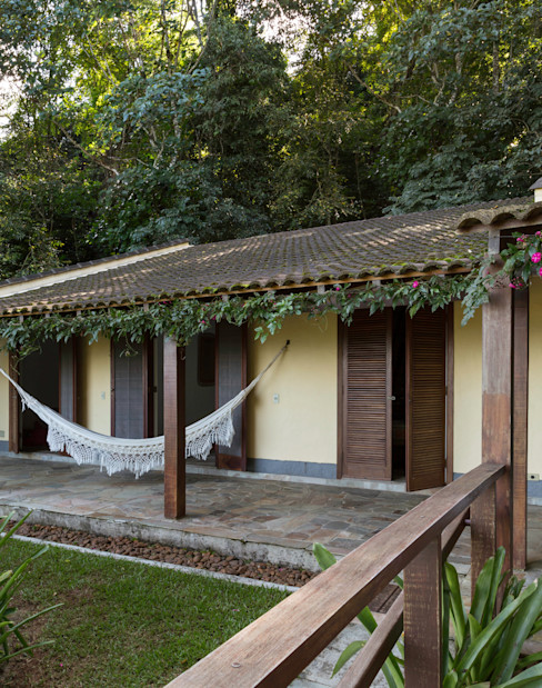 Lucia Manzano Balcon, Veranda & Terrasse rustiques