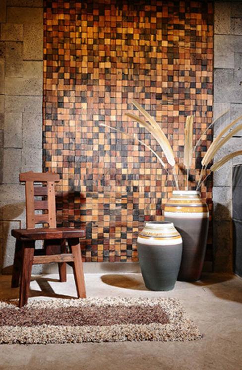 Reclaimed Ship Wood Used Worldwide ShellShock Designs Azjatyckie ściany i podłogi Drewno