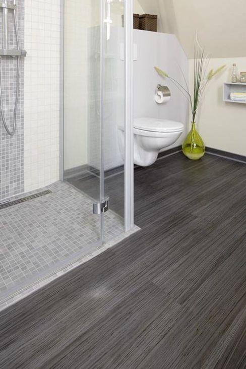 SUELOS Y PAREDES SIN OBRAS Scandinavian style bathrooms