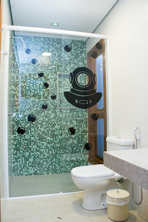 Espaço do Traço arquitetura Ванна кімната