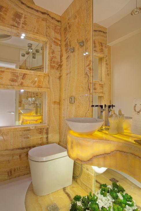 Apartamento Marrocos Designer de Interiores e Paisagista Iara Kílaris Banheiros modernos