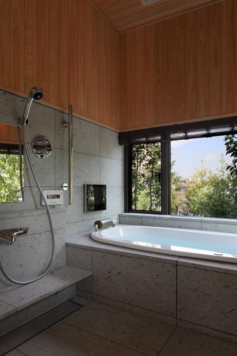 西谷の家 TAMAI ATELIER モダンスタイルの お風呂
