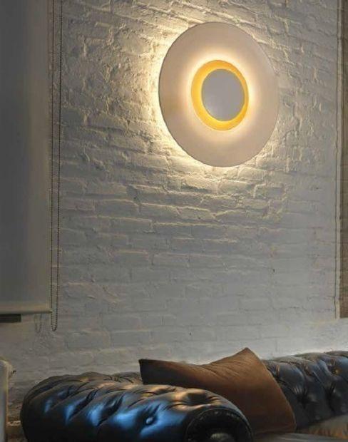 Aplique de Pared Doble Iluminación TusLámparasOnline SalonesIluminación