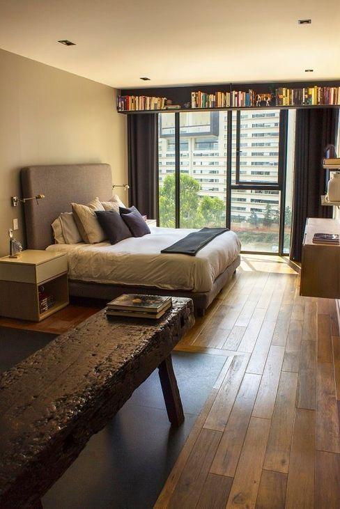 Departamento KL Concepto Taller de Arquitectura Dormitorios modernos