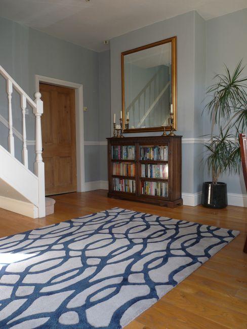 Entrance Hall Natalie Davies Interior Design Pasillos, vestíbulos y escaleras de estilo moderno