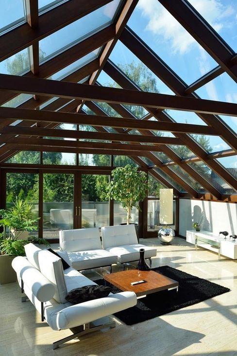 ARCHITEKT.LEMANSKI Modern conservatory