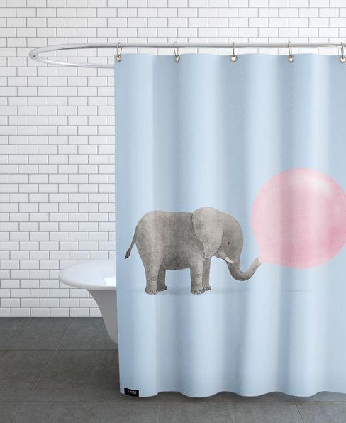 JUNIQE BanheiroTêxteis