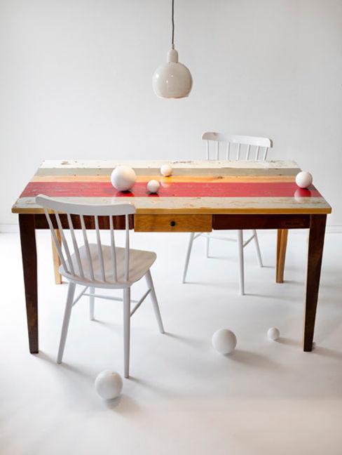 DIELEREI CocinaMesas, sillas y bancos Madera Multicolor