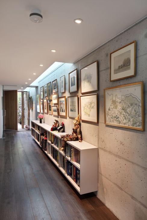 E2 PAVILION ECO HOUSE, BLACKHEATH E2 Architecture + Interiors Couloir, entrée, escaliers modernes