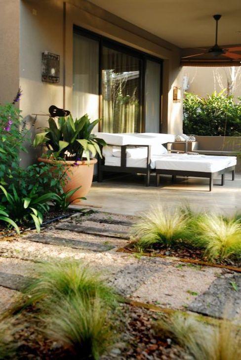 Parrado Arquitectura Rustic style garden