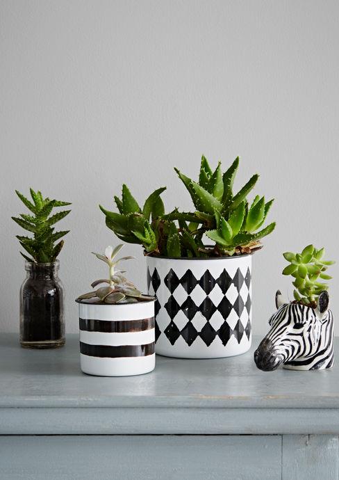 Monochrome Planter Collection rigby & mac CasaAcessórios e Decoração
