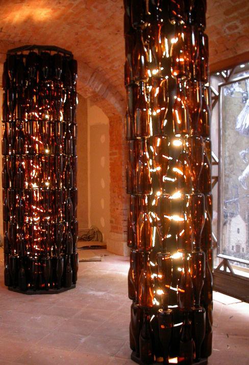 Lampade e ambienti Zuhause Claudio Molinari Sala da pranzo eclettica