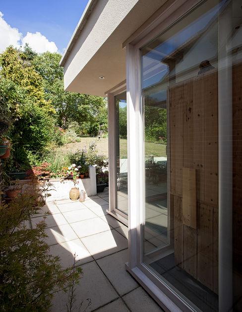 Private House in Epsom, Surrey Francesco Pierazzi Architects Moderner Wintergarten Massivholz Weiß