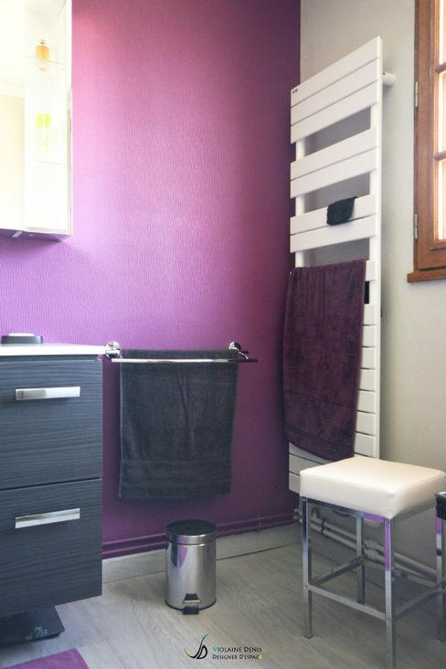 Salle de bain à accessibilité PMR Violaine Denis Salle de bain moderne