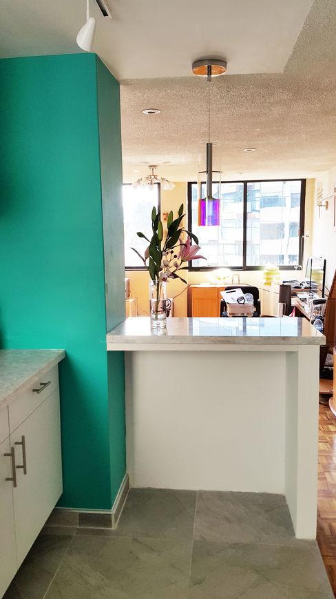 Diseño Distrito Federal Cozinhas modernas
