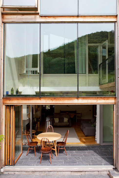 Un Y Berllan CRSH Architecture and Energy Modern houses