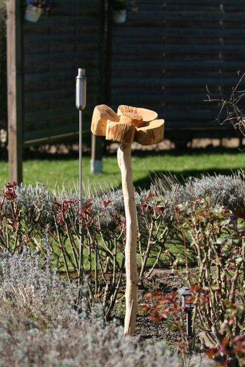 Holzblume Holzwerkerin Eving GartenAccessoires und Dekoration