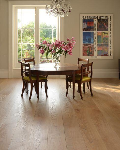 Oak Old White Pre-oiled The Natural Wood Floor Company Paredes y pisosRevestimientos de paredes y pisos