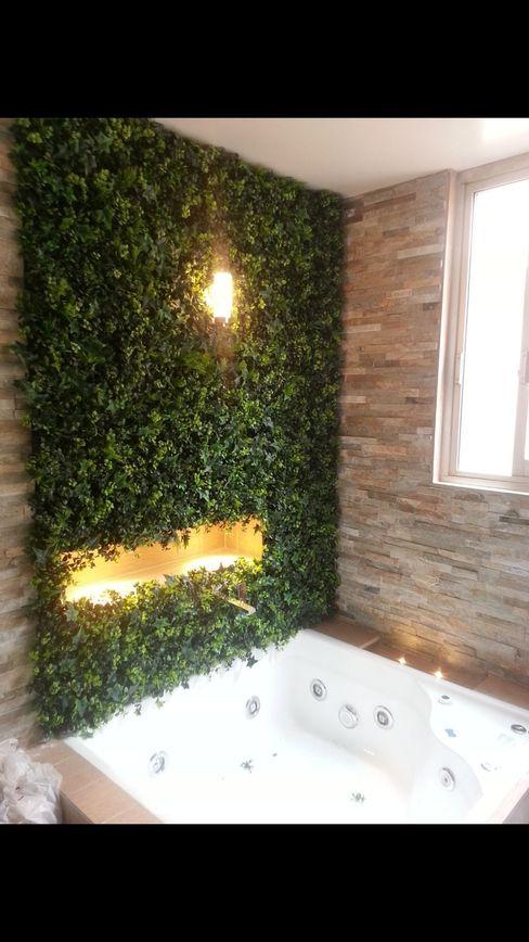 GreenSmart Salle de bain tropicale