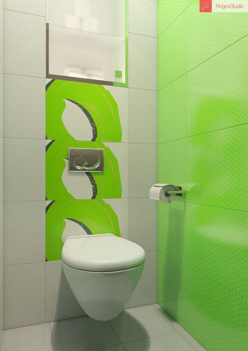 RogovStudio Minimalist bathroom
