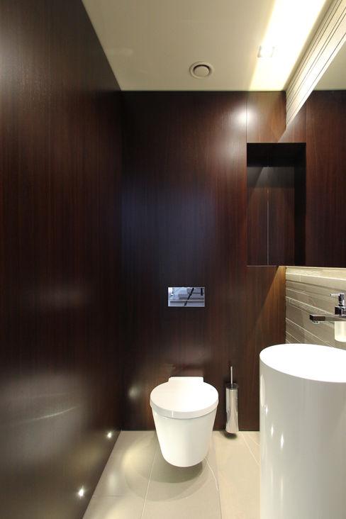Dom jednorodzinny w Chybach Studio Nomo Nowoczesna łazienka
